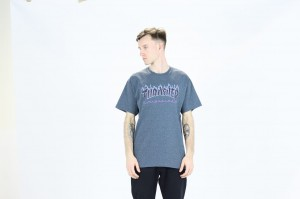 Thrasher T-shirt Flamelogo Dark Heather
