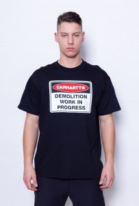 Carhartt WIP Demolition T-Shirt Black (I025333)