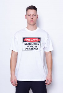 Carhartt WIP Demolition T-Shirt White (I025333)