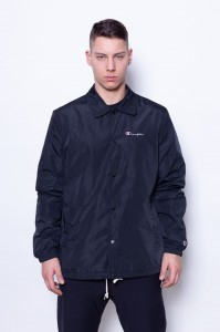 Champion Reverse Weave Coach Jacket Black NBK (212613)