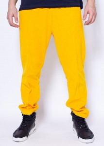 Champion Reverse Weave Straight Hem Pants Yellow CUY (212396)